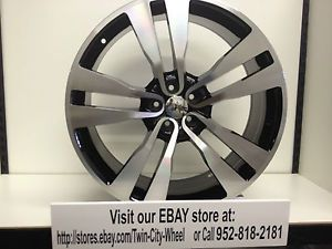 22 inch Black Machine Dodge Charger SRT8 OE Factory Replica 2012 Wheels Rims