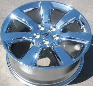 "Set of 4 New 19"" Factory Acura ZDX MDX Odyssey RL Chrome Wheels Rims 71795"