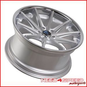 "19"" 2013 Lexus gs350 GS450H Rohana RC10 Silver Concave Staggered Wheels Rims"