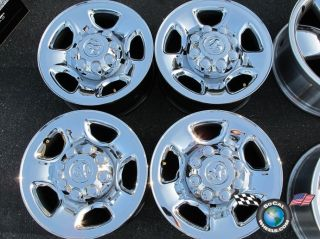 "Four 03 09 Dodge 2500 Factory 17"" Wheels Rims 2186"