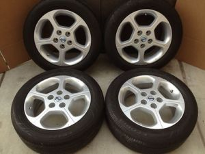 "2011 16"" Nissan Leaf Altima Wheels Rims Tires Maxima 300zx 240sx TPMS 62564"