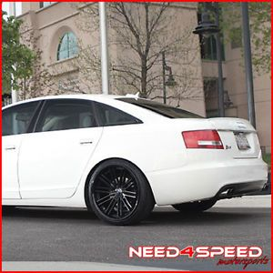 "20"" Audi B8 S5 Rohana RC20 Matte Black Concave Wheels Rims"