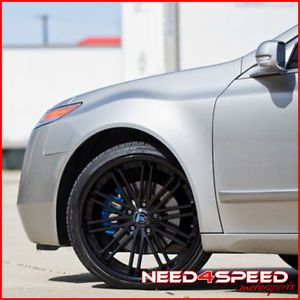 "20"" Acura TL Rohana RC20 Matte Black Concave Wheels Rims"