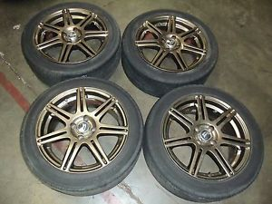 "Acura Integra Honda Civic 16"" 4x100 Wheels Rims JDM Wheel Rim 16 inch B18B B16A"