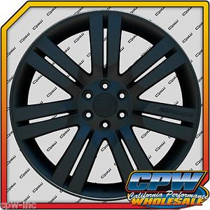 "24"" inch Cadillac Escalade Wheels Rims Matte Black Finish New Marcellino Design"