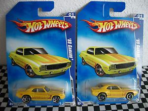 Hot Wheels 69 Camaro  Exclusive Very RARE with PR5 Chrome Rims
