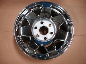 2002 2006 Cadillac Escalade Factory GM Wheel Chrome GM 9596873 14c