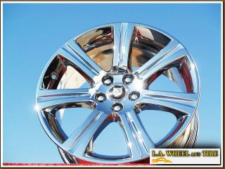 "Set of 4 New 18"" Jaguar XK XK8 ""Venus"" Factory Chrome Wheels Rims 59819"