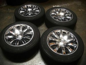 Chrysler 300 Hemi Chrome Factory Alloy 18 inch Wheels Tires Rims 300C