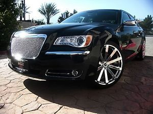 "2013 Chrysler 300C Hemi 5 7 Liter 360HP 22"" Wheels Tires Custom GRILLE13"