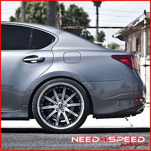 "20"" Roderick RW3 Machined Concave Lexus GS300 GS400 GS430 Staggered Rims Wheels"