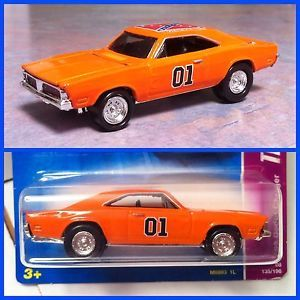 "Hot Wheels 69 Dodge Charger ""General Lee"" Custom Super Treasure Hunt Centerlines"