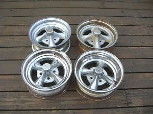 Vintage Rocket Racing Wheels Set 4x98 4x100 Fiat BMW Alfa Romeo