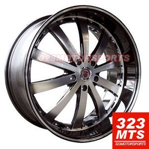 24 inch Wheels Redsport RSW77A Rims Truck Ford GMC Yukon Range Rover