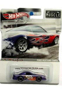 2012 Hot Wheels Racing Muscle Ford Mustang Cobra