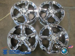 Four 06 10 Hyundai Sonata Factory 17 Wheels Rims 70727 Free Chrome