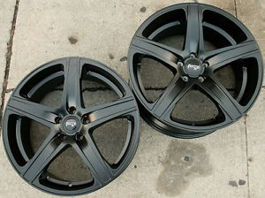 Niche Euro M103 19 x 8 5 9 5 M Black Rims Wheels Jaguar XK 08 Up 5H 50