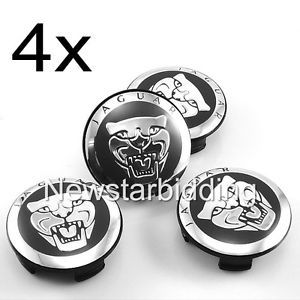 4X Good 2 25 inch Jaguar Emblem Wheel Center Caps s Type x Type XK XF XJ8 XK8