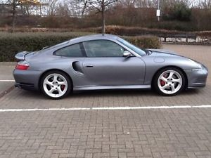 "Porsche 996 18"" Turbo Twist Wheels w Tires"