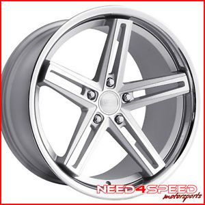 "20"" Lexus SC430 SC Concept One CS55 Silver Staggered Wheels Rims"
