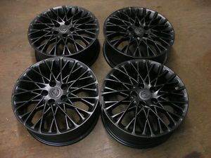 Toyota Solara Camry Avalon Lexus ES300 ES330 IS300 Wheels Rims Flat Black 74223