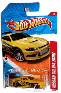 '11 Hot Wheels Thrill Racers Highway 187 Nissan Silvia