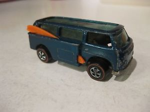 Vintage Mattel Hot Wheels Redline VW Volkswagen Van Beach Bomb Bus Nice