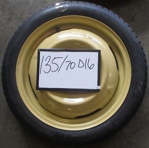 "Compact Spare Tire Wheel 2009 Scion XD 16"" Space Saver Donut"