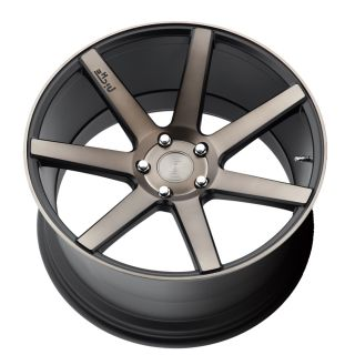 "22"" Niche Verona Black Concave Wheels 22x10 Rims for Porsche Panamera"