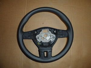 12 2013 VW Volkswagen Passat B7 MK6 Jetta Golf Genuine Black Steering Wheel