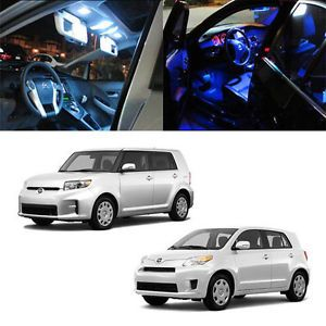 2008 2012 Scion XB BB XD TRD 5 x 5050 SMD Full LED Interior Lights Package Deal