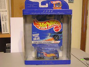 Hot Wheels 30th Anniversary 1996 First Editions VW Drag Bus Volkswagen