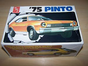Issue 1975 AMT Model Car Kit T454 Ford Pinto 1 25 Scale Parts Box