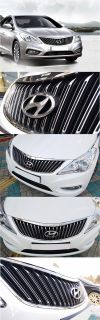 Genuine Parts Front Radiator Grill Grilles for Hyundai azera HG 2013