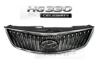 Genuine Parts Front Hood Radiator Chrome Grill Fit Hyundai 12 13 azera HG