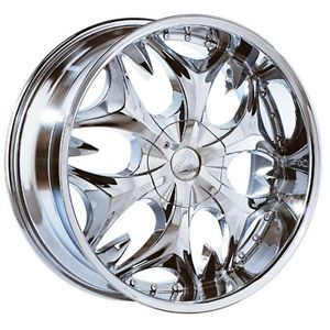 17 inch Chrome Wheels 4 Lug Honda Accord Civic Prelude