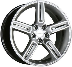 "17"" Decorsa Oracle Metallic Silver Wheels Rims Toyota Honda Nissan 5x114 3"