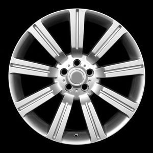 "22"" Silver Land Rover ""Stormer"" Wheels Rims Fit Range Rover Supercharged"