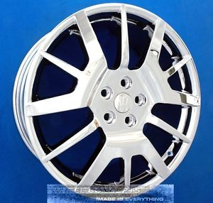 "Maserati Granturismo 20 inch Chrome Wheel Exchange 20"" Gran Turismo Rims"