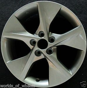 "Toyota Camry 2012 Charcoal 18"" 5 Spoke Factory Wheel Rim H 69605"