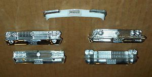 Vintage Model Car Dated Front Bumpers Cadillac Buick Parts Repair Junkyard Lot