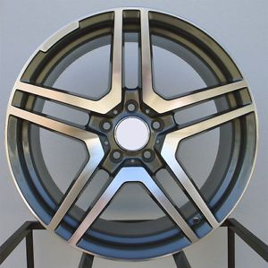 "18"" AMG Style Wheels Rims Fit Mercedes C220 C230 C240 C280 1993 2007"