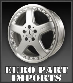 Silver AMG Mercedes Benz Qty Wheels Rims 2204011202