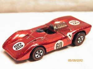 EX 1970 Hot Wheels Spectraflame Red Ferrari 312P Redline Series Hong Kong