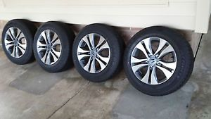 2013 Honda Accord Rims Wheels Tires 5x114 3 50 Offset 16x7 Factory