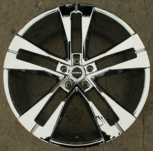"Strada Razza 22"" Chrome Rims Wheels Honda Odyssey Pilot 22 x 8 5 5H 40"