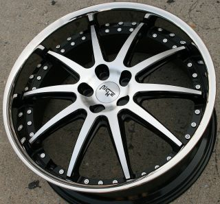 "Niche Spa M879 20"" Black Rims Wheels Volvo XC90 03 Up 20 x 8 5 5H 35"