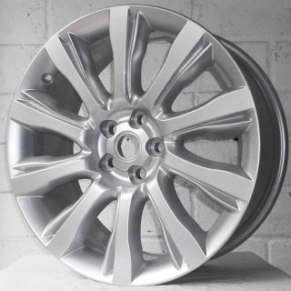 21 LAND ROVER DISCOVERY 3 LR3 04 09 SE GENUINE SILVER ALLOY WHEELS 5x120