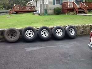 Chevy GMC 2500HD Wheels and Tires