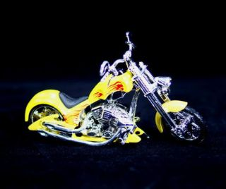 Iron Chopper Motorcycle Motormax 1 18 Scale Diecast 132